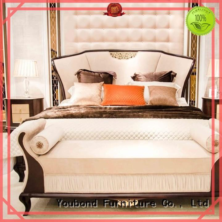 Custom style classic bedroom furniture design Senbetter