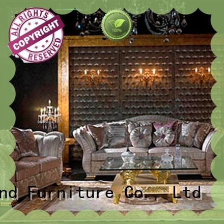 european classic italian furniture living room with chinese element for villa