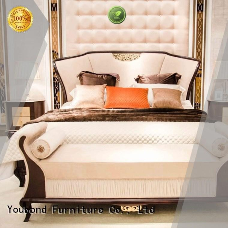 black traditional master bedroom sets with white rim for decoration