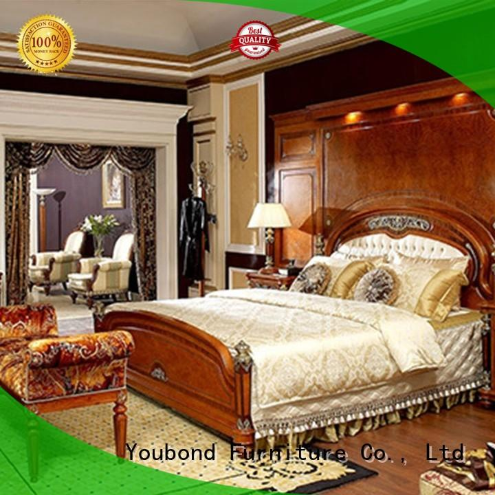 Senbetter german bedroom furniture with solid wood table and chairs for royal home and villa