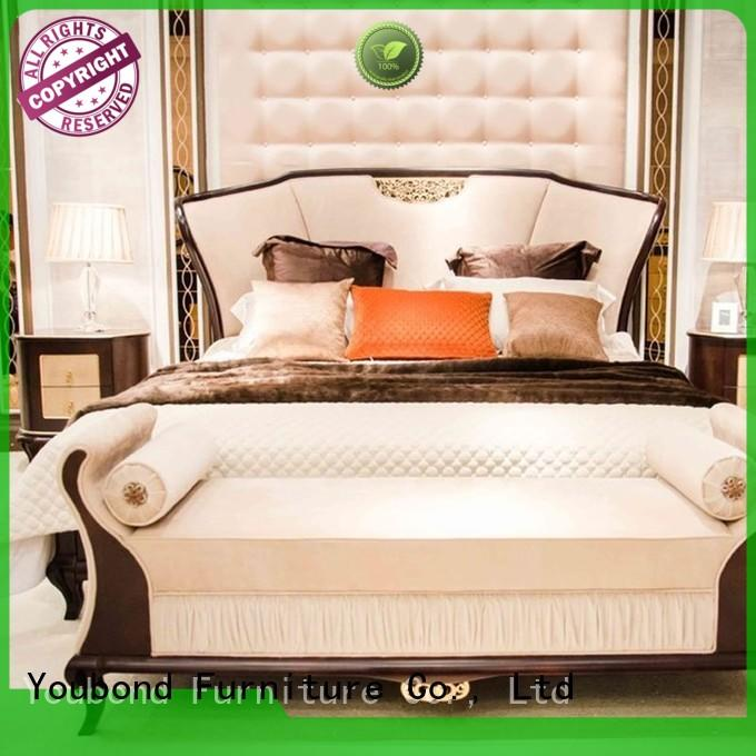 Senbetter blue white high gloss bedroom furniture manufacturers for royal home and villa