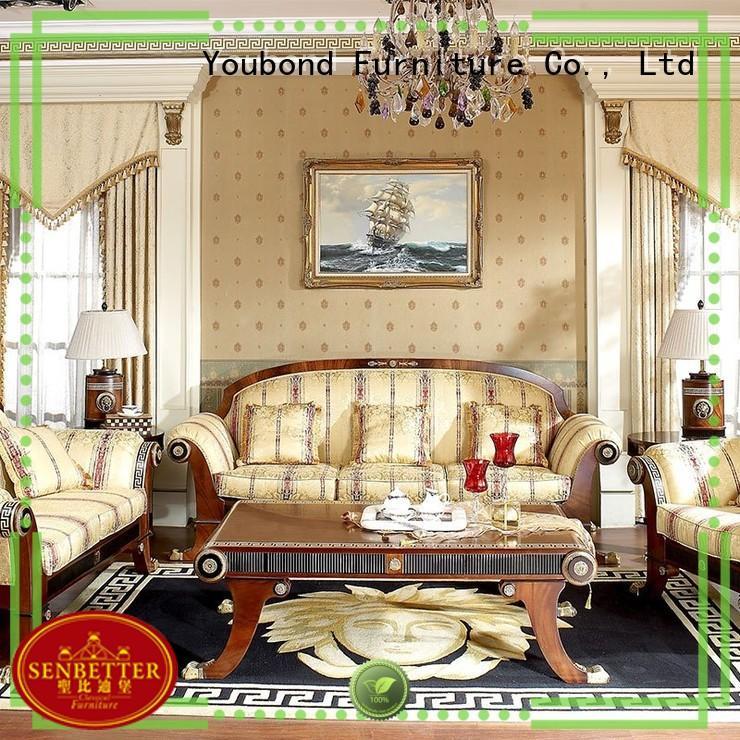 Custom style classic living room furniture lifestyle Senbetter