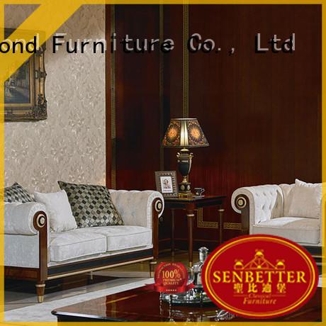 Hot white living room furniture design Senbetter Brand