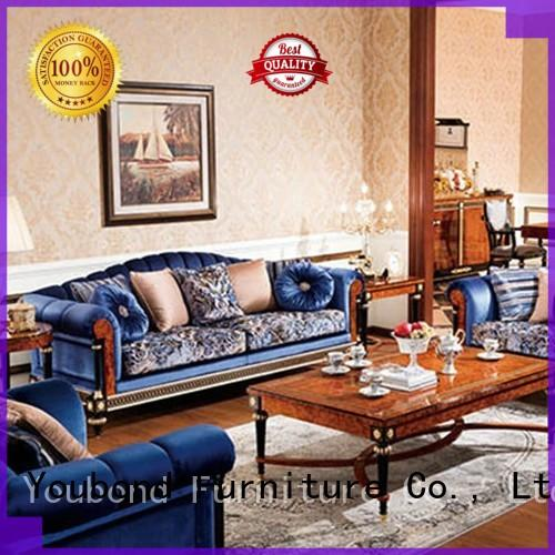 elegant style luxury living room furniture sets with chinese element for hotel