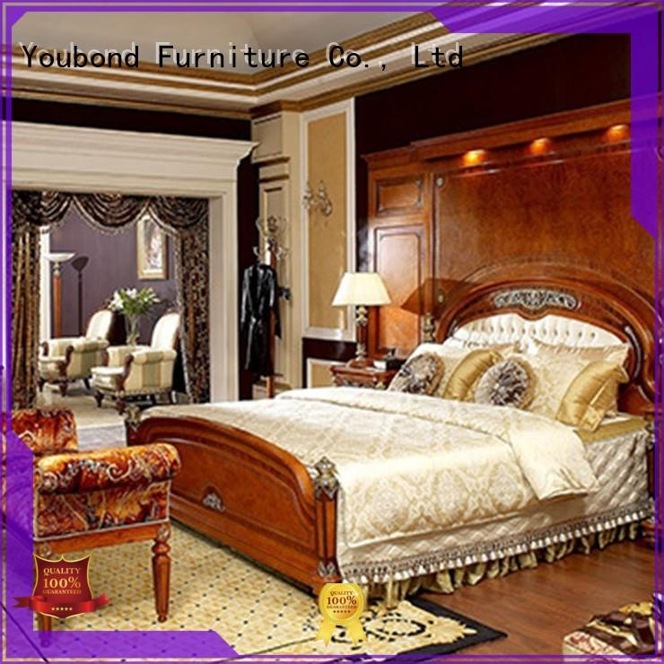 Senbetter Brand design simple wood classic bedroom furniture manufacture