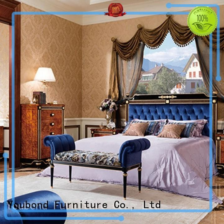 veneer best bedroom furniture with chinese element for decoration