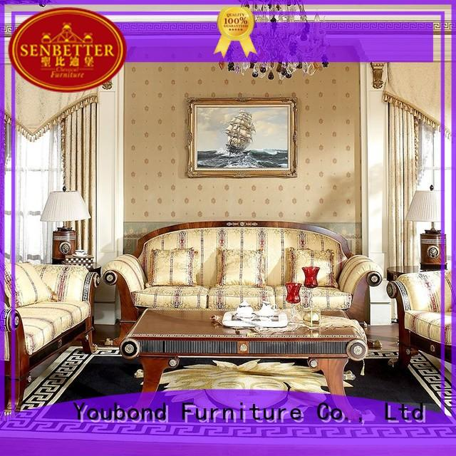 elegant style living furniture with fabric or leather sofa for living room