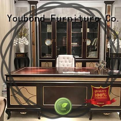 Senbetter antique best office furniture with bookcase for company