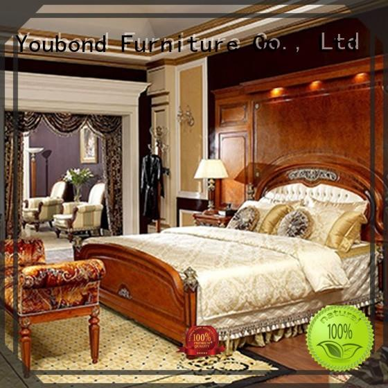 beech wood classic bedroom furniture design solid Senbetter company