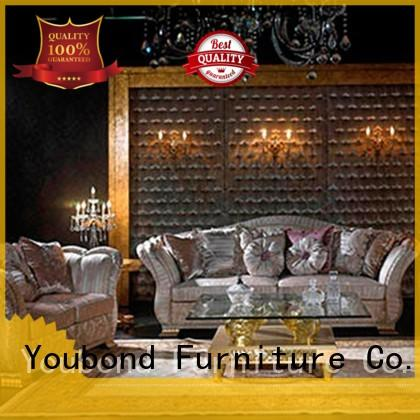 wooden green living room furniture company for hotel