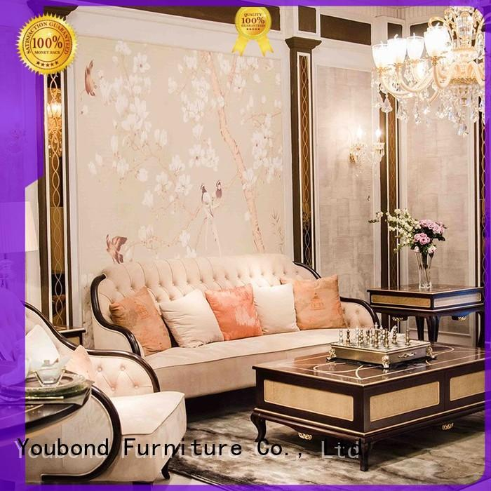 baroque palace design white living room furniture Senbetter manufacture