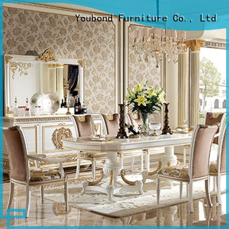 Custom Classic Italian Dining Table Set With Wooden Table For Sale Senbetter