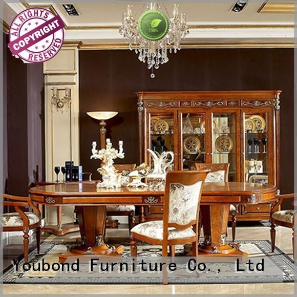 european solid wood dining room sets with buffet for home