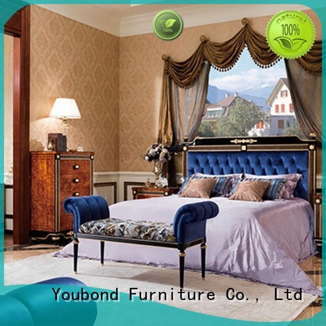 Wholesale simple oak bedroom furniture Senbetter Brand