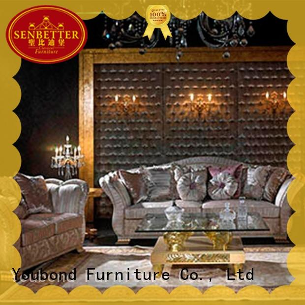 Senbetter luxury living room styles with solid wood chair for home
