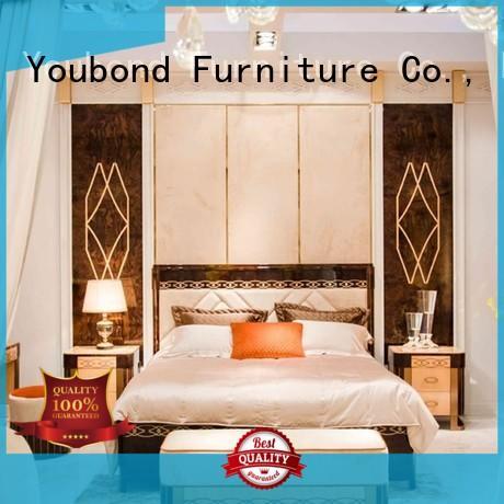 Light And Luxury Elegant Solid Wood Italian Style Bedroom Furniture 0072