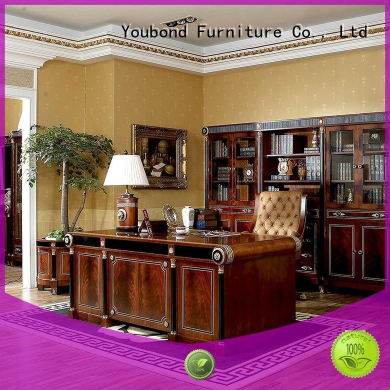 Senbetter luxury home office furniture desk with office writing desk for hotel