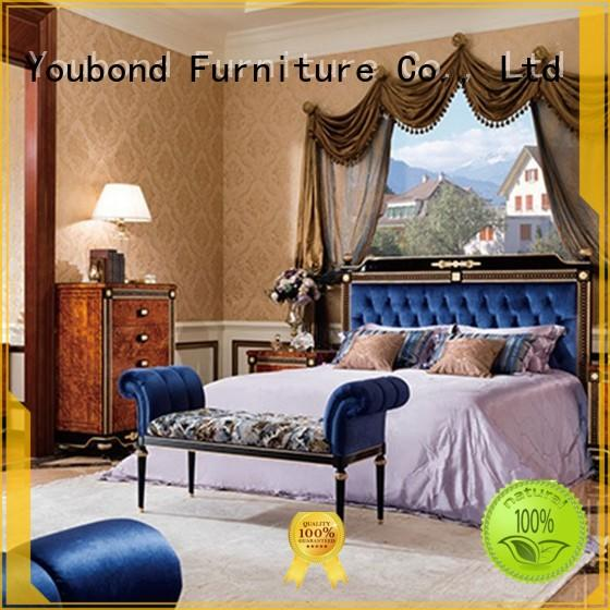 oak bedroom furniture solid wood classic bedroom furniture Senbetter Brand