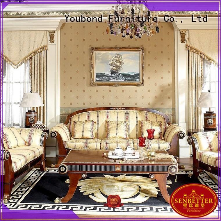 Hot white living room furniture classic Senbetter Brand