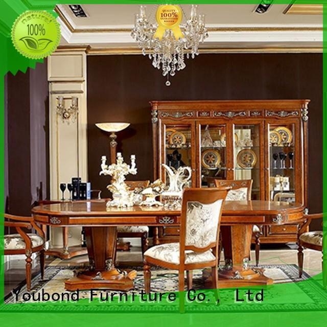 Hot luxury classic dining room furniture room set Senbetter Brand