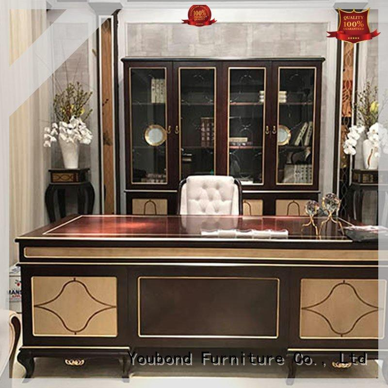 Senbetter high end maple office furniture with office writing desk for home