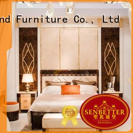 gross white wood bedroom furniture with white rim for decoration