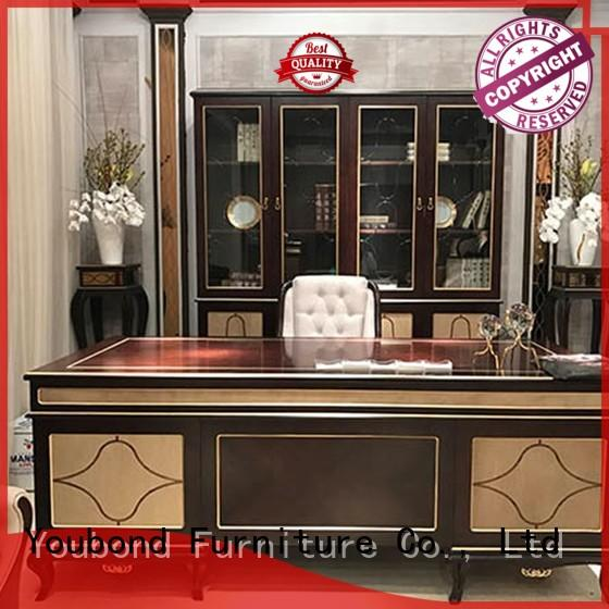 office desk quality office furniture with bookcase for villa Senbetter
