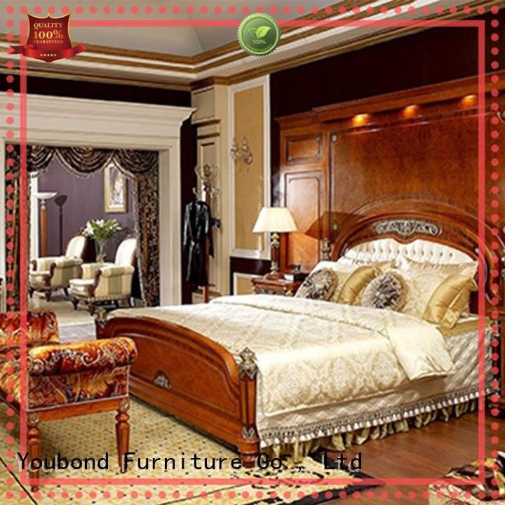 Senbetter Brand design veneer classic oak bedroom furniture bedroom