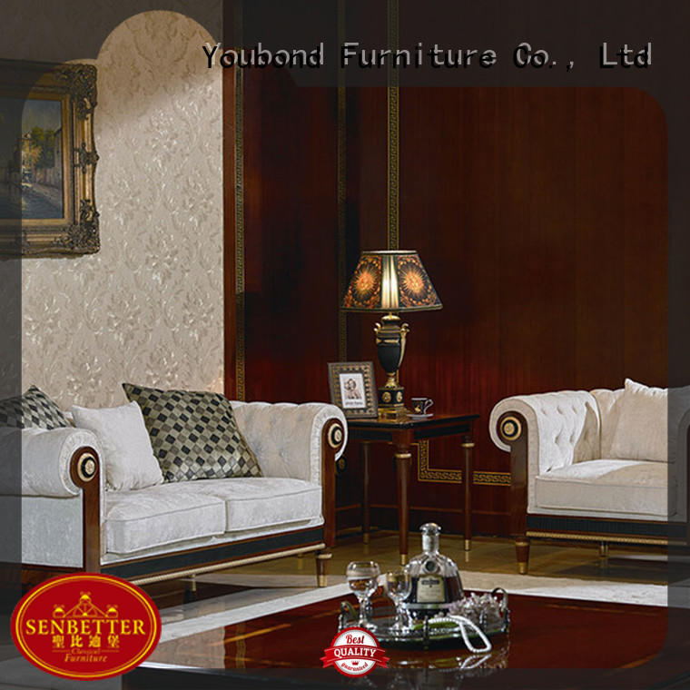 Senbetter italian classic italian furniture living room with chinese element for villa