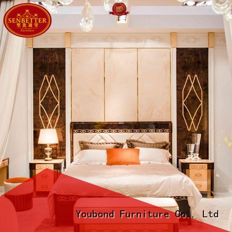 mahogany classic classic bedroom furniture simple style Senbetter company