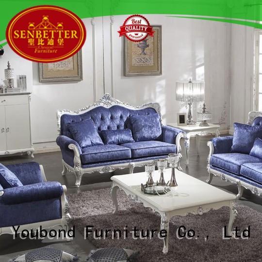 Senbetter Brand italian white living room furniture style supplier