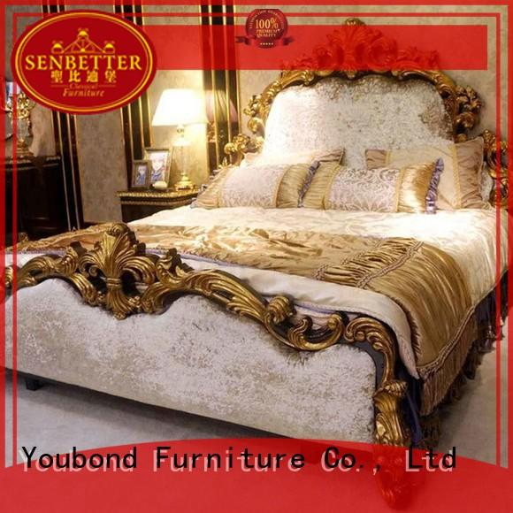 design mahogany simple classic bedroom furniture solid Senbetter Brand