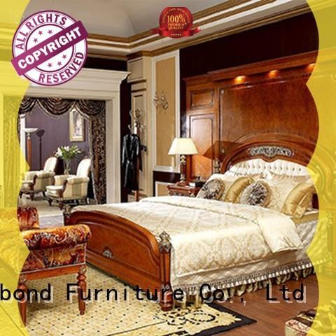 mahogany traditional bedding sets for royal home and villa