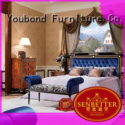 veneersolid wood bedroom furniture with solid wood table and chairs for decoration
