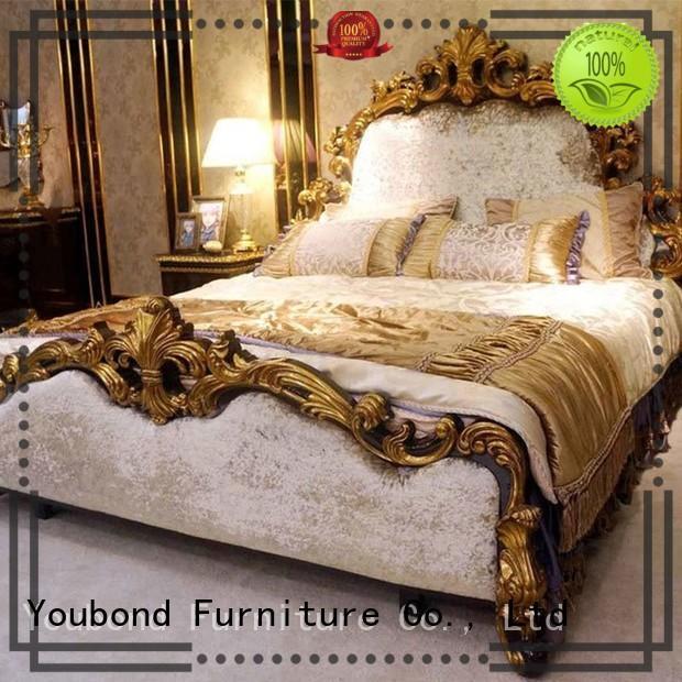 beech veneer OEM classic bedroom furniture Senbetter