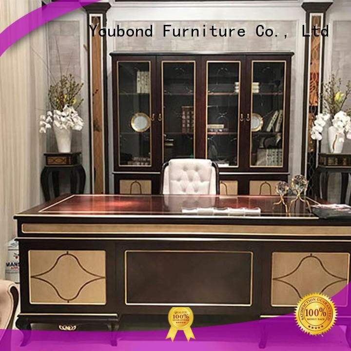 desk furniture louis carved room classic office furniture manufacture