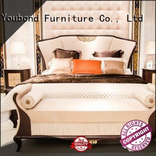 classical traditional bedroom furniture sets manufacturers for royal home and villa