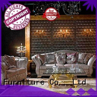 Senbetter wooden discount living room sets with flower carving for home