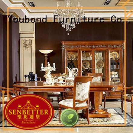 solid room furniture Senbetter Brand classic dining room furniture supplier