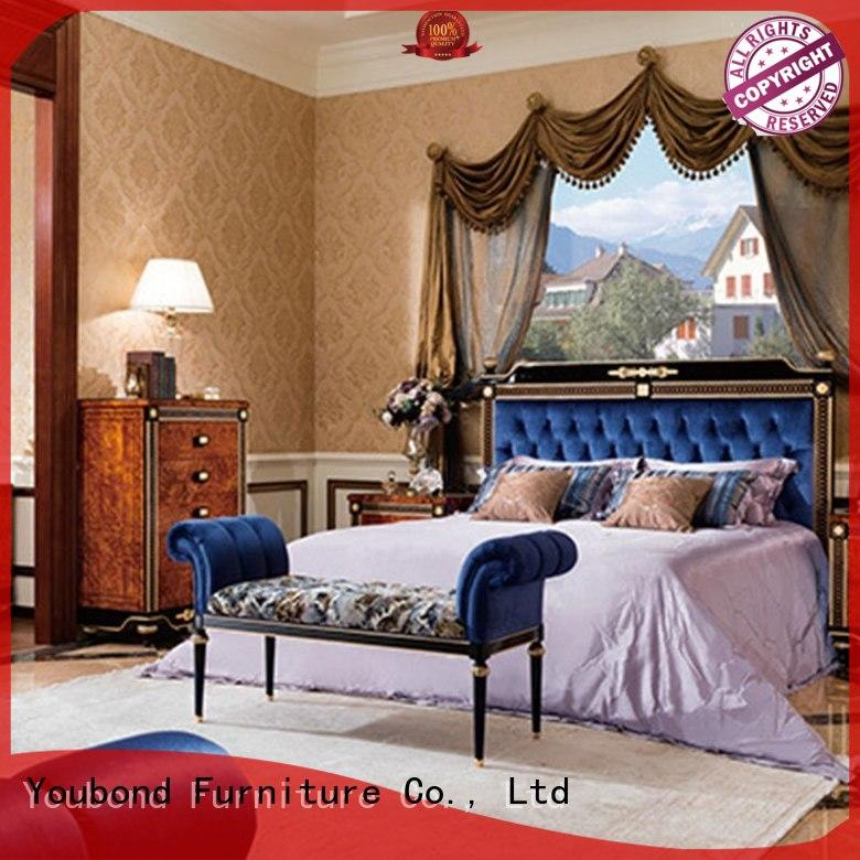 high end cottage style bedroom furniture with white rim for decoration