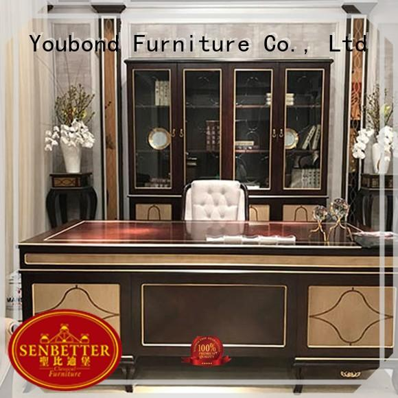 New Design European Neo-Classic And Chinese Style Office Furniture Set 0071