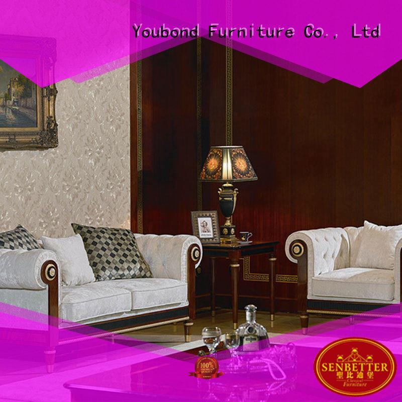 white living room furniture baroque furniture Senbetter Brand