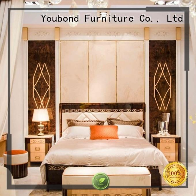 classic wood oak bedroom furniture style mahogany Senbetter Brand