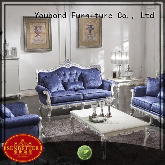 living vintage latest white living room furniture Senbetter Brand