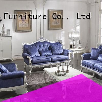 luxury classic living room sets with fabric or leather sofa for home