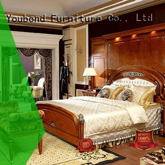 Senbetter Brand gross classic bedroom furniture mahogany factory