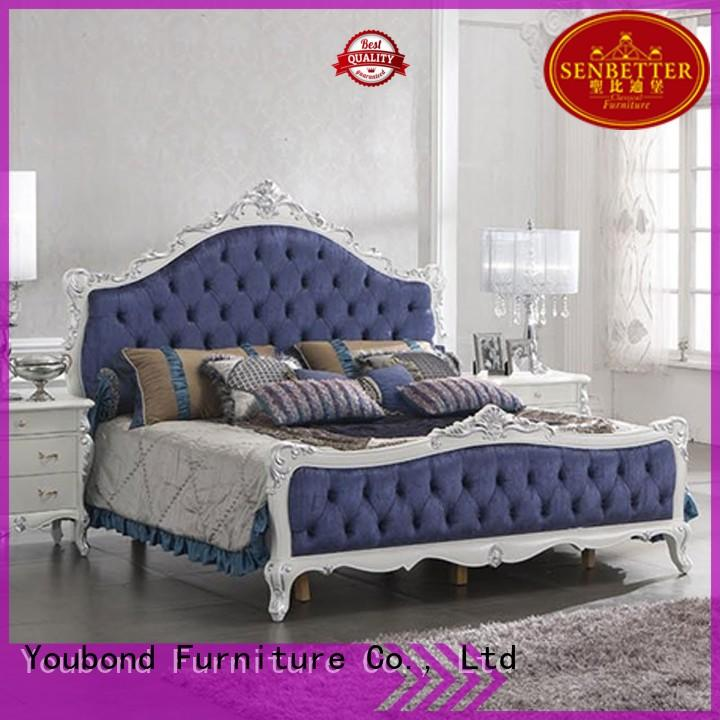 Senbetter danish bedroom furniture with chinese element for royal home and villa