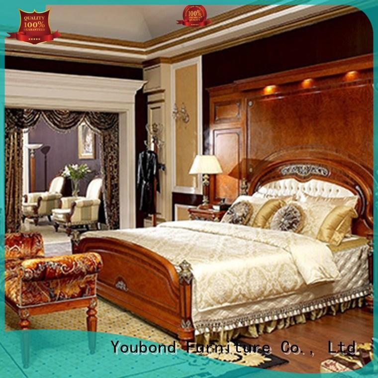 european classic italian bedroom furniture with solid wood table and chairs for decoration