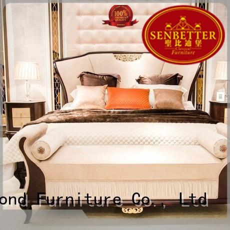 Senbetter Brand wood classic classic bedroom furniture manufacture