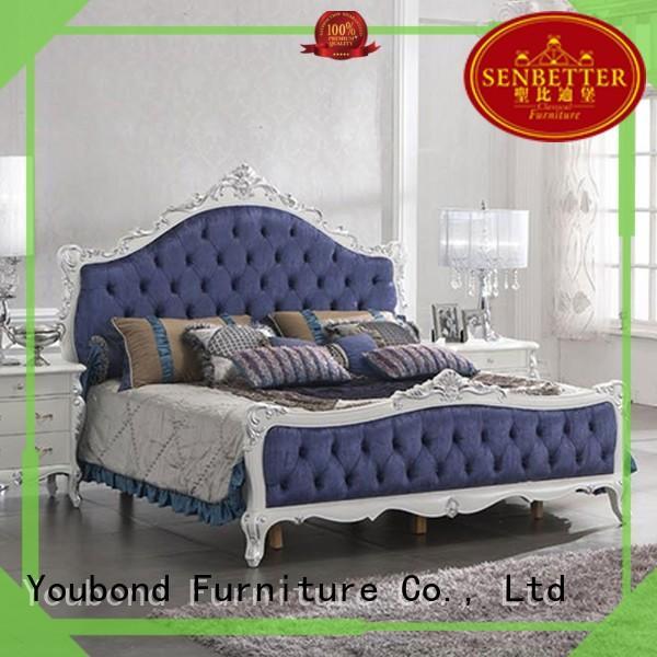 Senbetter Brand mahogany design oak bedroom furniture simple